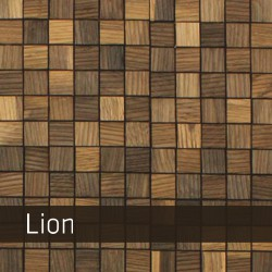 brodesign holzmosaik lion 250